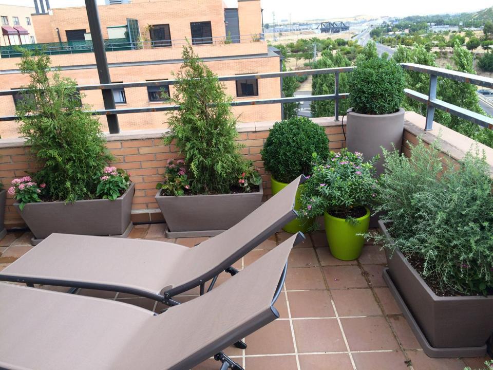 Terraza tico complejo nova - Ideas para decorar terraza atico ...